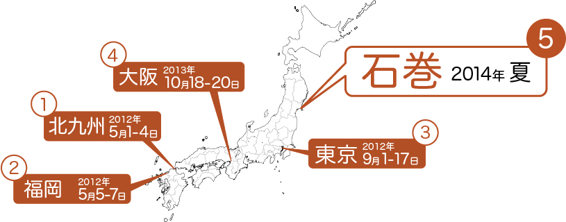 「Re1920記憶」の旅