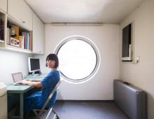 中銀カプセルタワービル・シェアオフィス(名建築を公平に使いつつ維持する仕組み)